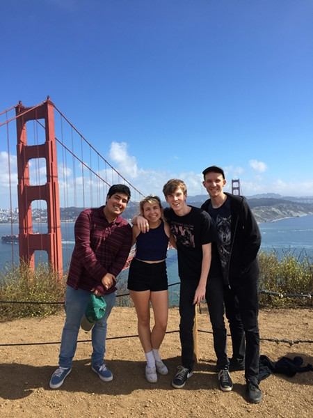 Beach Bunny on their first tour—they went to the west coast this summer. - LILI TRIFILIO