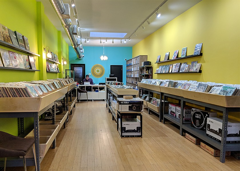 Rattleback sells plenty of vinyl as well as CDs and cassettes. - TAYLOR MOORE