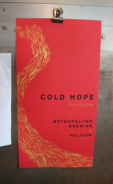 Cold Hope poster by Nicolette Ross - PHILIP MONTORO