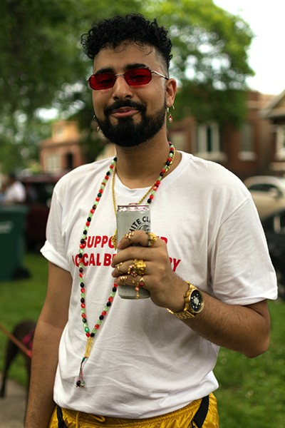 Samer Owaida: [Dyke March is important to me] because they support Palestine! - ROBYN DAY