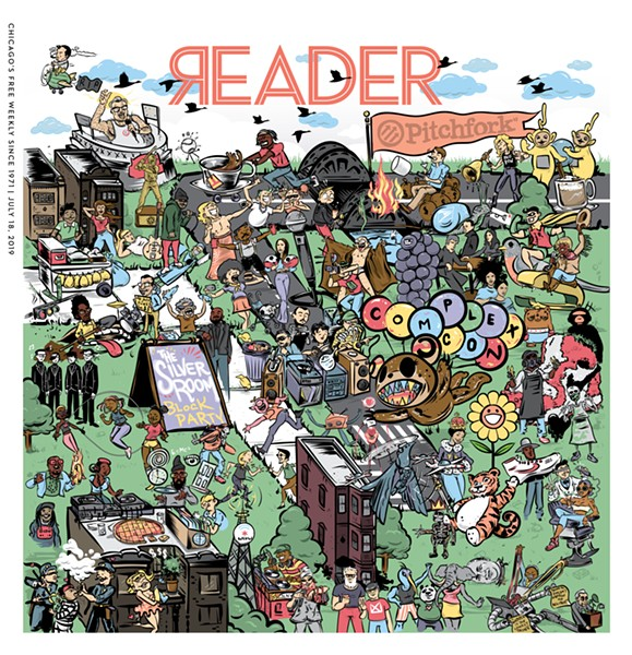 I'm gonna save you a minute and just say right now that Waldo isn't in there. - ILLUSTRATION BY JASON WYATT FREDERICK