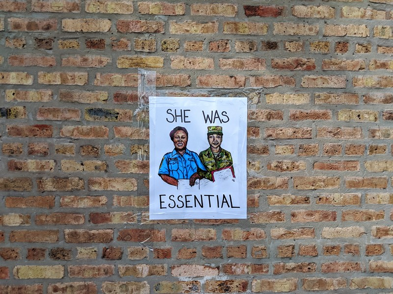 """""""She Was Essential"""" art by Yulisa Baeza - RAVEN GEARY"""