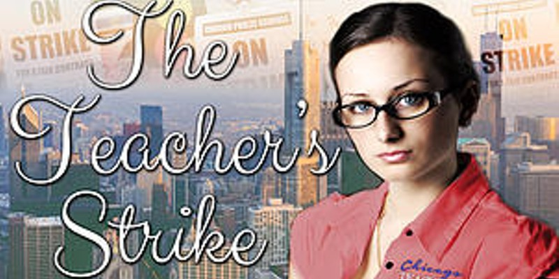 Fifty Shades of Grey meets the 2012 Chicago teachers' strike in a new erotic novel