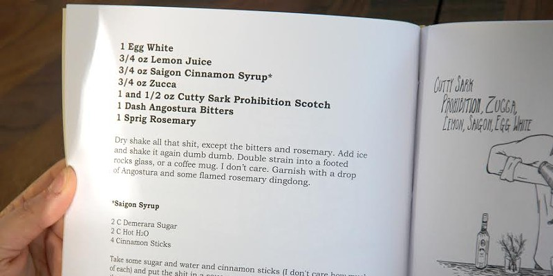 The Wooded Isle recipe in Cocktails for Dingdongs