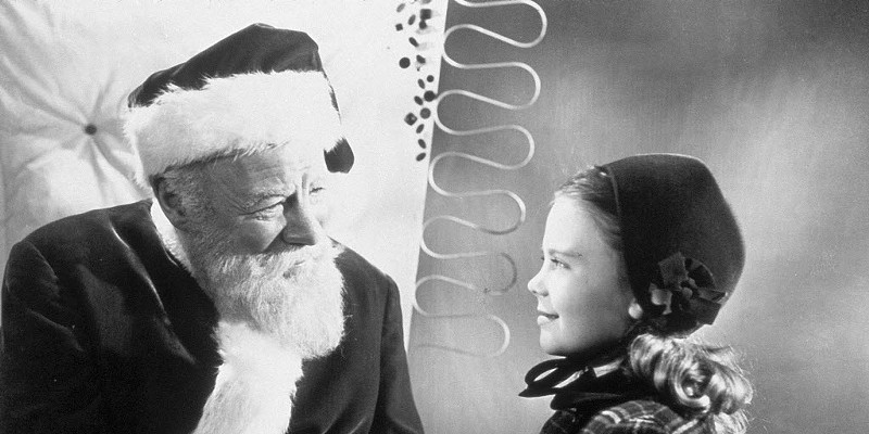 As we learn from watching Miracle on 34th Street, Santa knows everything.