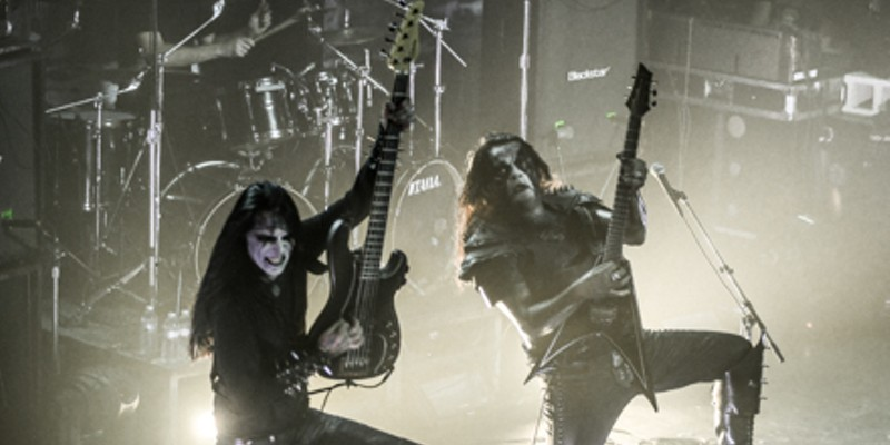 Photos of Abbath, High on Fire, Skeletonwitch, and Tribulation from Friday's Metro show