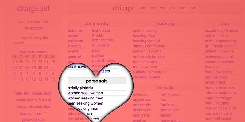 Remembering Chicago Craigslist Personals, the Wild West of Internet dating