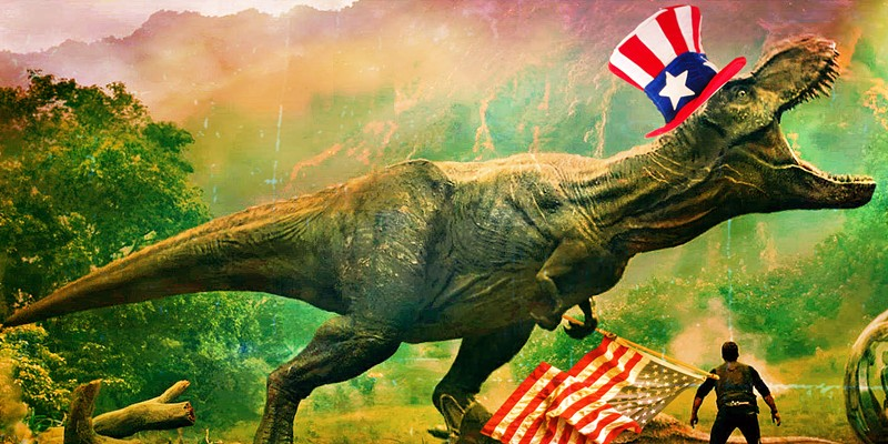 """When you think """"dinosaur"""" you're probably thinking of one from North America like the T. rex."""