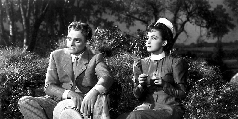 James Cagney and Olivia de Havilland in The Strawberry Blonde