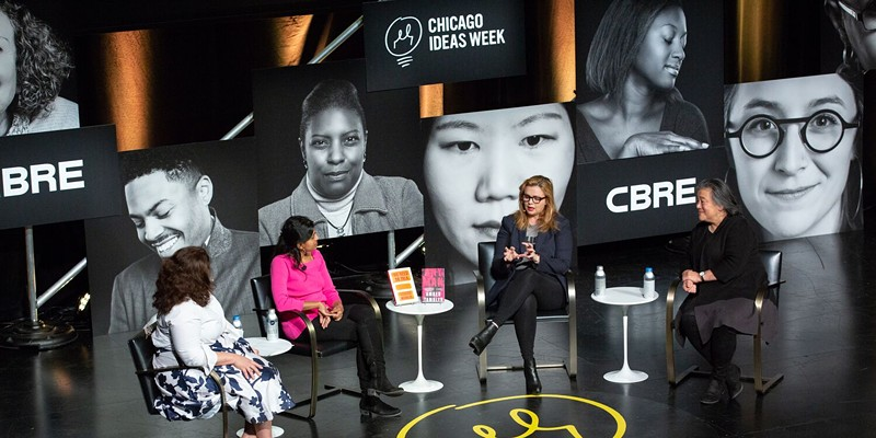 #TimesUp: What's Next? Chicago Ideas Week conversation discusses the next steps for the movement