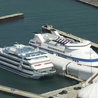 Donald Trump's connection to Gary The Trump Casino and Don Barden's Majestic Star docked in Buffington Harbor in 2001 Sun-Times