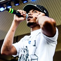 Chance the Rapper, Donnie Trumpet, and the Roots at Taste of Chicago Chance the Rapper Bobby Talamine