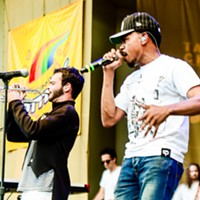 Chance the Rapper, Donnie Trumpet, and the Roots at Taste of Chicago Donnie Trumpet and Chance the Rapper Bobby Talamine