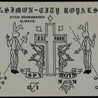 """Decoding a Gang Compliment Card """"More shit talking. A knock against the Lawndale Altgeld Gaylords—Spy being a member of the Gaylords the Simon City Royals killed."""""""