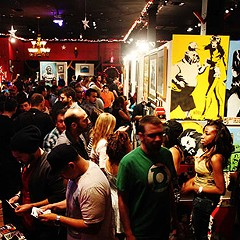 Pancakes & Booze Art Show serves up paint and sculpture, carbs and syrup