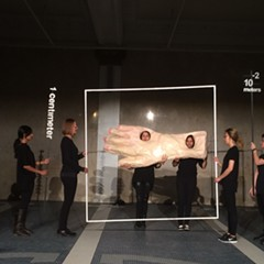 'Architecture performance' Superpowers of Ten is a bizarre and refreshing addition to the Architecture Biennial