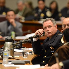 Chicago police superintendent Garry McCarthy at a City Council budget hearings two weeks ago