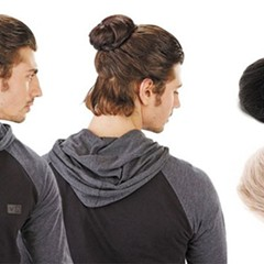 "Groupon's ""Clip-in Man Bun"""