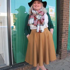 On Milwaukee Avenue, fashion that channels foliage