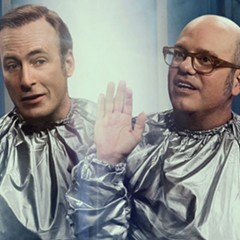 Odenkirk and Cross come in peace.