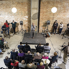 A live town-hall event sponsored by the Invisible Institute last year
