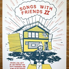 There goes the Hideout on the gig poster of the week