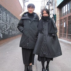 These minimal-goth kids make wearing black in winter seem like a bright idea