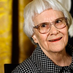 Harper Lee, pictured here in 2007, died Friday at age 89.