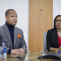 Democratic state rep Ken Dunkin, under fire for breaking ranks, and primary challenger Juliana Stratton