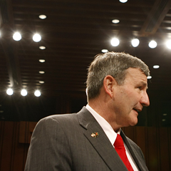 Retired U.S. Army lieutenant general Karl W. Eikenberry