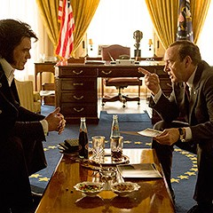 Elvis & Nixon gives Presley the upper hand, but it was the president all along