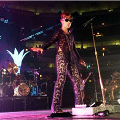 Prince at a June 1997 show at the United Center