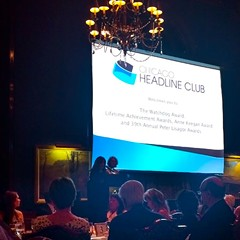 The Lisagor Awards, held at the Union League Club May 6