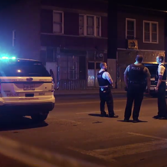 A still from the New York Times's coverage of weekend violence in Chicago.