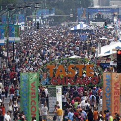 The annual Taste of Chicago kicks off Wed 7/6.