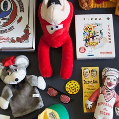 The Whistler hosts a launch party for their exhibit of items from the U.S. Pizza Museum on Wed 7/20.