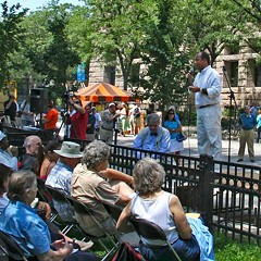 The Bughouse Square Debates: Come for the used books, stay for the fringe opinions