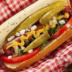 Don't bring ketchup to the Chicago Hot Dog Festival this weekend.