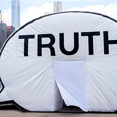 The truth is . . . the Truth Booth is a place to be honest