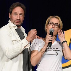 X-Files and Back to the Future stars survived some awkward moments at Wizard World