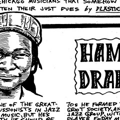 Hamid Drake drums around the world, but he's not a star at home