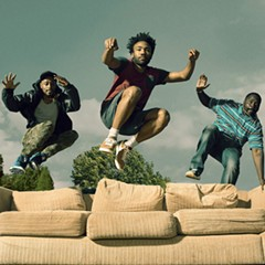 Keith Stanfield, Donald Glover, and Brian Tyree Henry star in Atlanta.