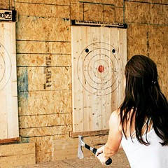 Chicago's only ax-throwing center celebrates its opening this weekend.