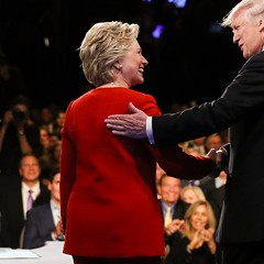 Hillary Clinton and Donald Trump are at it again on Sun 10/9.