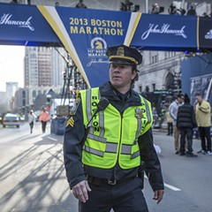Patriots Day soft-pedals the citywide lockdown that followed the Boston Marathon bombing