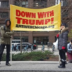 ANSWER Chicago has led a number of local anti-Trump demonstrations.