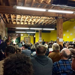 A Writers Resist event at Open Books