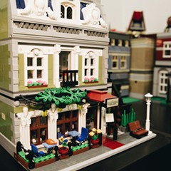 This Lego collector's house is a world of stackable plastic bricks