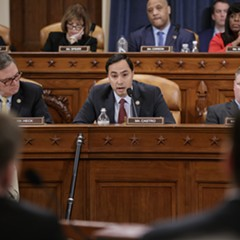 Members of the House Intelligence Committee questioned FBI director James Comey Monday during a hearing on allegations of Russian interference in November's presidential election.