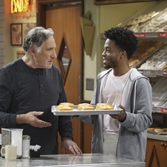 Judd Hirsch and Jermaine Fowler in Superior Donuts